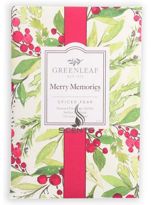 Большие саше Greenleaf Воспоминания Рождества Merry Memories для ...